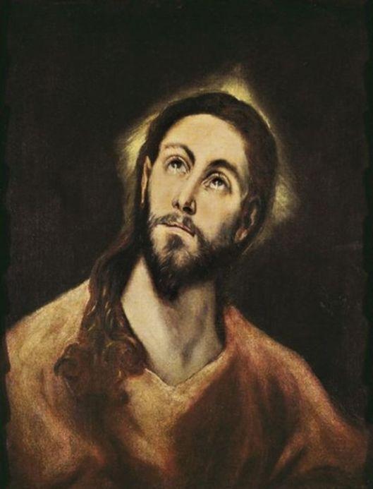 EL GRECO Portretul lui Hristos 3
