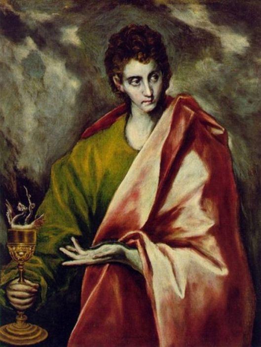 EL GRECO Sf. Ioan Teologul 1