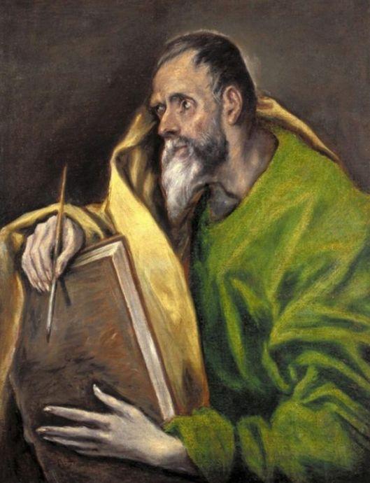 EL GRECO Sf. Luca  1