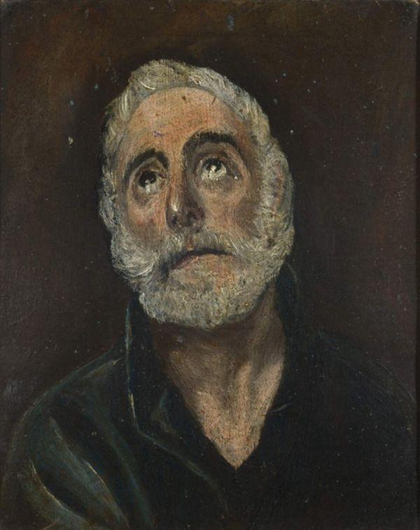 EL GRECO Sf. Petru penitent 6