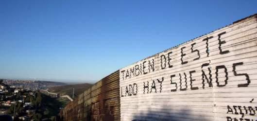 el muro entra frontera de eeuu con méxico 2